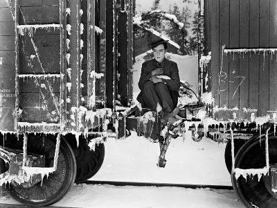 Buster Keaton, Go West, 1925--Photographic Print