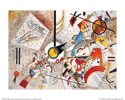 Bustling Aquarelle, c.1923-Wassily Kandinsky-Art Print