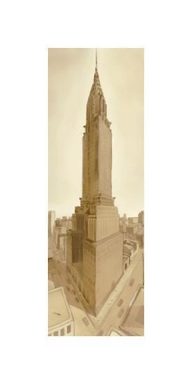 Bustling Metropolis-S^ Garrett-Giclee Print