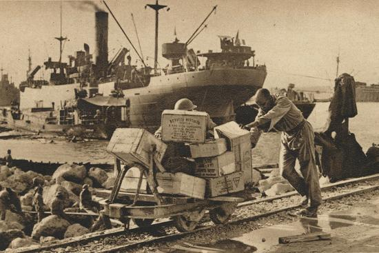 'Busy Scenes in Benghazi', 1943-Unknown-Photographic Print