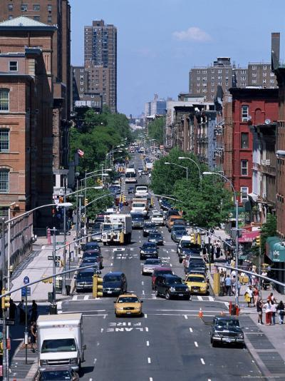 Busy Traffic, Upper East Side, Manhattan, New York, New York State, USA-Yadid Levy-Photographic Print