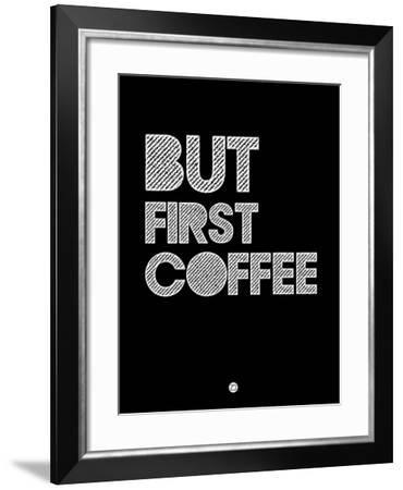 But First Coffee 2-NaxArt-Framed Art Print