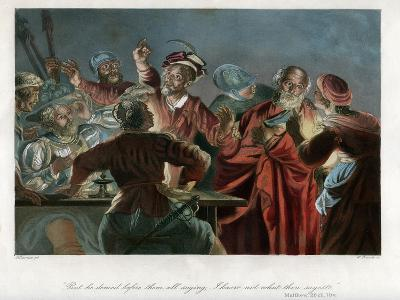 But He Denied before Them All Saying, I Know Not What Thou Sayest, C1850-William French-Giclee Print