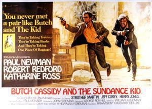 Butch Cassidy and the Sundance Kid - Lobby Card Reproduction