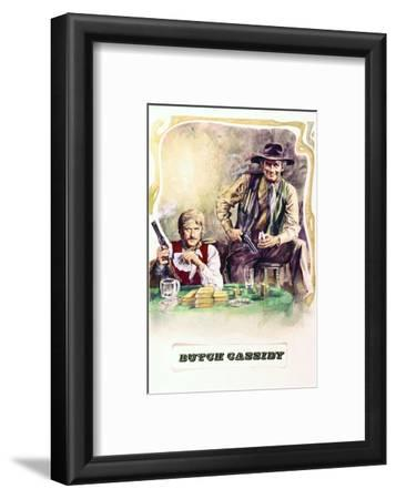 Butch Cassidy and the Sundance Kid - Movie Poster Reproduction