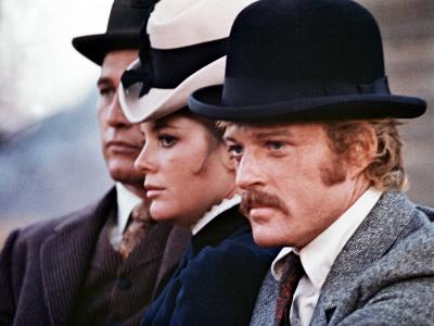 Butch Cassidy And The Sundance Kid, Paul Newman, Katharine Ross, Robert Redford, 1969--Photo