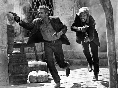 Butch Cassidy and the Sundance Kid, Paul Newman, Robert Redford, 1969--Photo