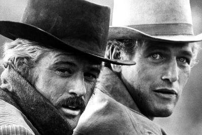 Butch Cassidy and the Sundance Kid, Robert Redford, Paul Newman, 1969--Photo