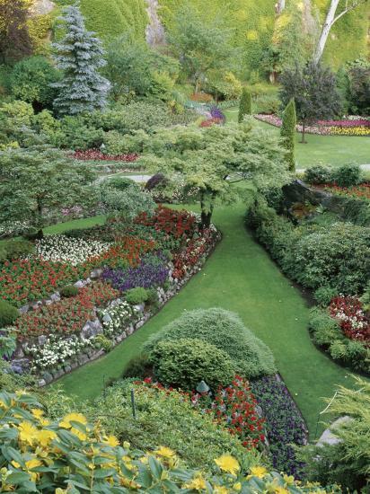Butchart Gardens, Victoria, Canada--Photographic Print