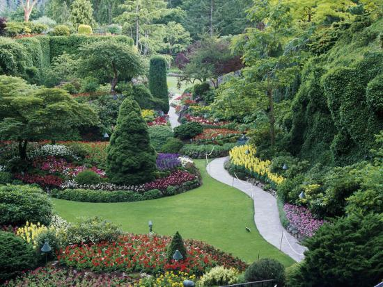 Butchart gardens victoria canada photographic print by art butchart gardens victoria canada thecheapjerseys Image collections