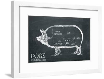Butcher's Guide IV-The Vintage Collection-Framed Art Print