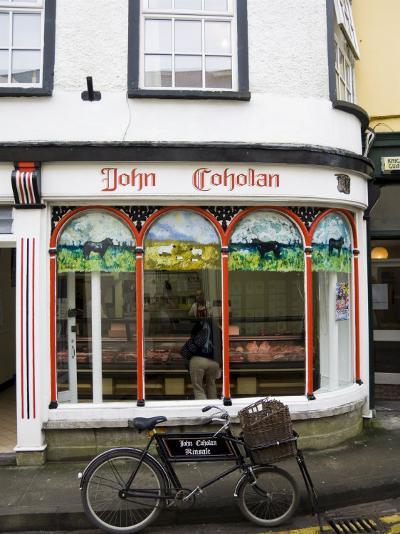 Butcher's Shop, Kinsale, County Cork, Munster, Republic of Ireland-R H Productions-Photographic Print