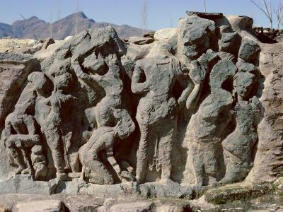 Butkara Ruins, Swat Valley, North West Frontier Province, Pakistan, Asia-Robert Harding-Photographic Print