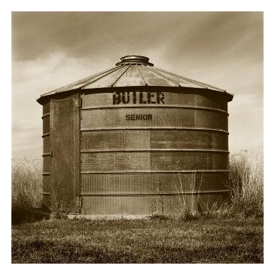 Butler Corn Crib-TM Photography-Premium Photographic Print