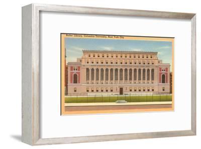 Butler Library, Columbia University, New York