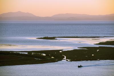 Butrint and Corfu Island in Distance, Albania, Mediterranean, Europe-Christian Kober-Photographic Print