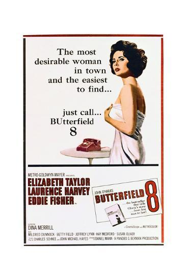 BUtterfield 8 - Movie Poster Reproduction--Art Print