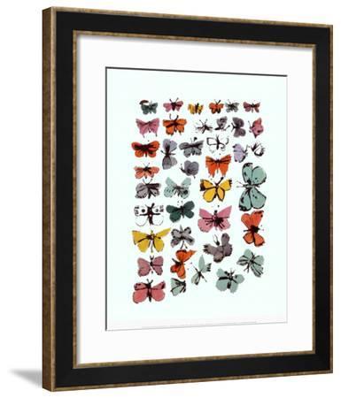 Butterflies, 1955-Andy Warhol-Framed Art Print