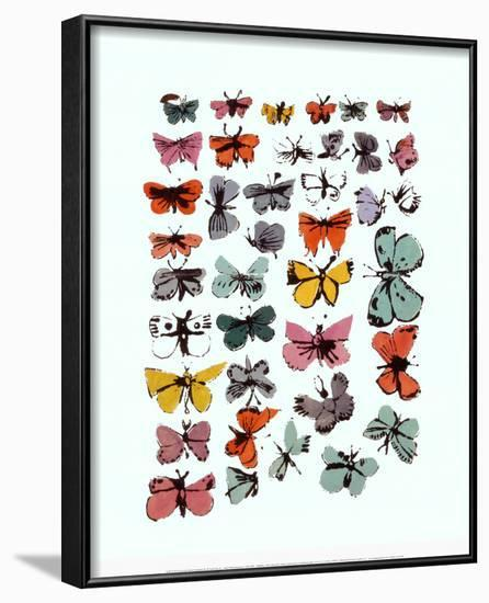 Butterflies, 1955 Framed Art Print by Andy Warhol | Art.com