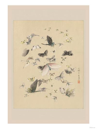 Butterflies 2--Art Print