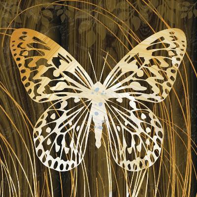 Butterflies and Leaves II-Erin Clark-Giclee Print