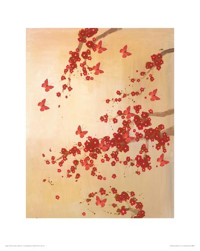 Butterflies & Blossoms-Lily Greenwood-Giclee Print