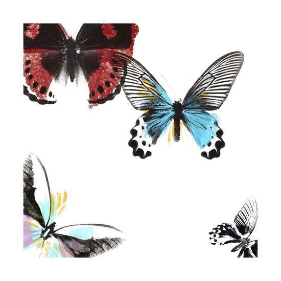 Butterflies Dance I-A. Project-Art Print