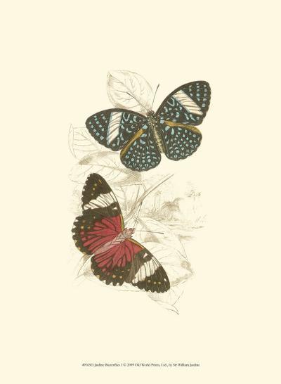 Butterflies I-Sir William Jardine-Art Print