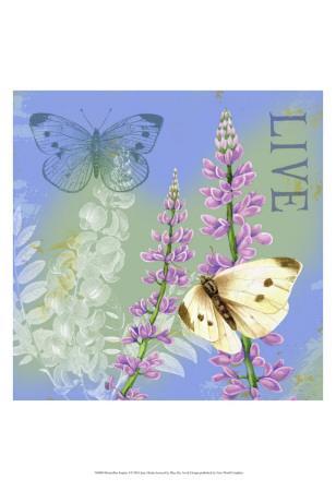 Butterflies Inspire I-Jane Maday-Art Print