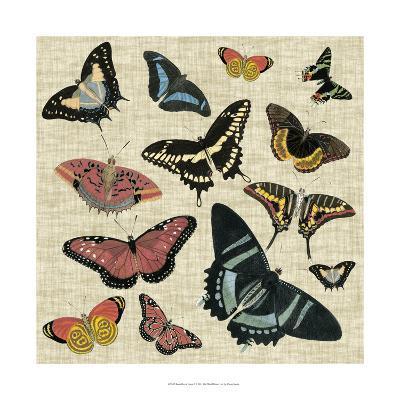Butterflies & Linen II--Art Print