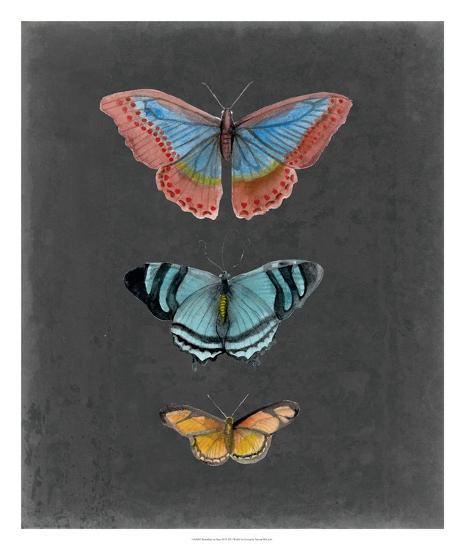 Butterflies on Slate III-Naomi McCavitt-Giclee Print