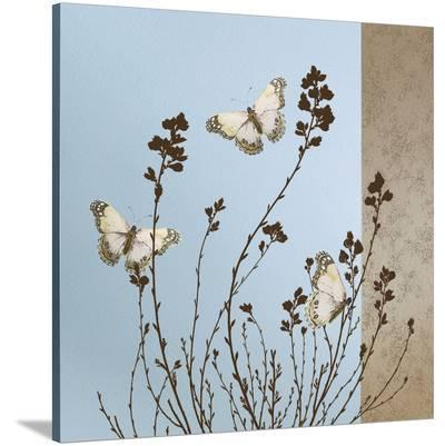 Butterflies-Caroline Gold-Stretched Canvas Print