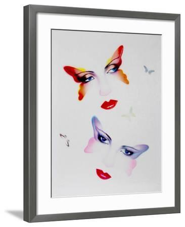 Butterflies-Pater Sato-Framed Limited Edition