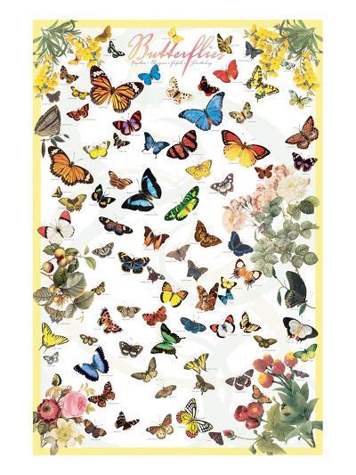 Butterflies--Art Print