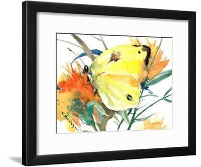 Butterfly 2-Suren Nersisyan-Framed Art Print
