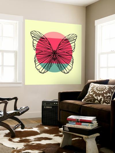 Butterfly and Sunset-Lisa Kroll-Wall Mural