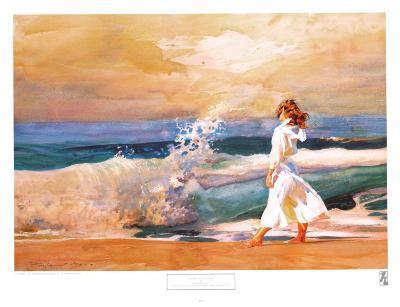 Butterfly Beach-Richard Yaco-Art Print
