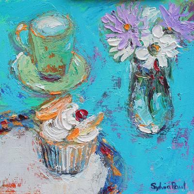 Butterfly Cake-Sylvia Paul-Giclee Print