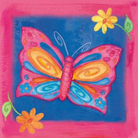 Butterfly Colors 04-Maria Trad-Giclee Print