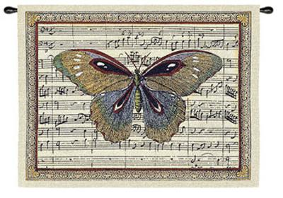 Butterfly Dance I--Wall Tapestry