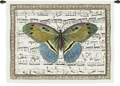 Butterfly Dance II--Wall Tapestry