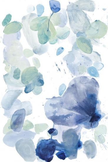 Butterfly Dance in Blue A-Allyson Fukushima-Premium Giclee Print