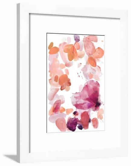 Butterfly Dance in Pink A-Allyson Fukushima-Framed Premium Giclee Print