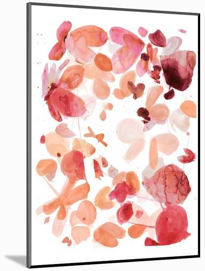 Butterfly Dance in Pink C-Allyson Fukushima-Mounted Premium Giclee Print