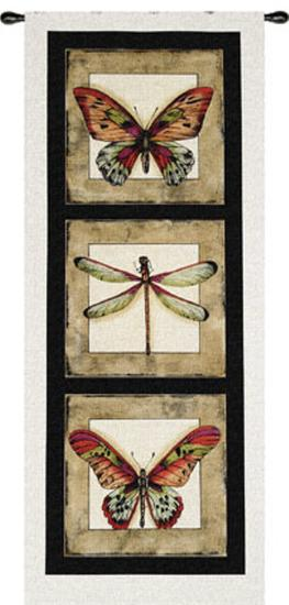 Butterfly Dragonfly I--Wall Tapestry