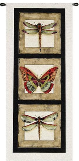 Butterfly Dragonfly II--Wall Tapestry