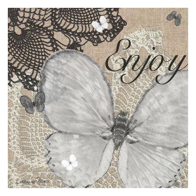 Butterfly Enjoy-Lorraine Rossi-Art Print