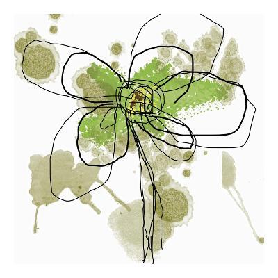 Butterfly Flower I-Jan Weiss-Art Print