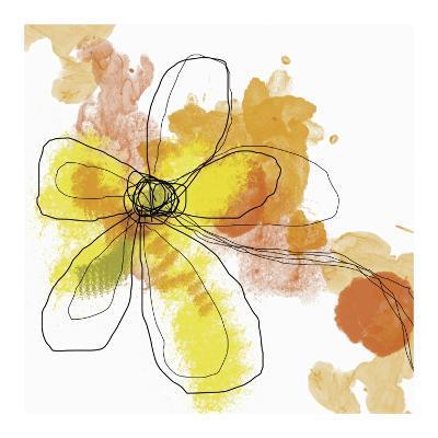 Butterfly Flower II-Jan Weiss-Art Print