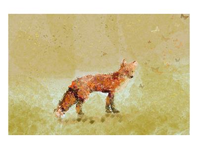 Butterfly Fox-Claire Westwood-Art Print